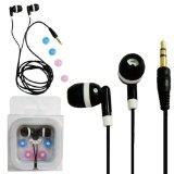 Lupo - Kopfhörer für iPod (Video, Nano, Shuffle, Touch und alle anderen MP3/4-Player, schwarz)