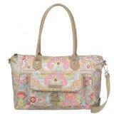 Oilily Carry All Frühling Ovation M / Mittel Handtasche in 6 Farben, Farbe: Elfenbein