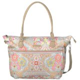 Oilily Spring Ovation Carry All Handtasche in 4 Farben, Farbe:Ivory