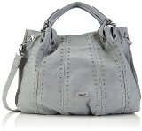 Tamaris ELEONORE Shopping Bag 1604151-204 Damen Shopper 47x34x12 cm (B x H x T), Grau (light grey)