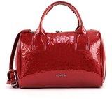 Calvin Klein Jeans MAGGIE LARGE DUFFLE 2 J6EJ600387 Damen Henkeltaschen 31x23x18 cm (B x H x T), Rot (CRIMSON RED 618)