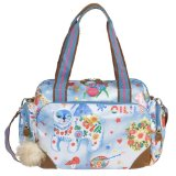 Oilily Russian Tale M Carry All - Petrol