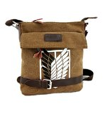 Sanlise 2015 Kyojin Attack on Titan Scouting Legion Umhängetasche Leinentasche Messenger Camera Bag
