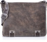 REBELS & LEGENDS, Cntmp, Unisex - Erwachsene Messengerbags, Business-Bags, Aktentaschen, Handtaschen, Schultertaschen, Umhängetaschen, DIN-A4, Leder, Braun, 36x30x8cm (B x H x T)