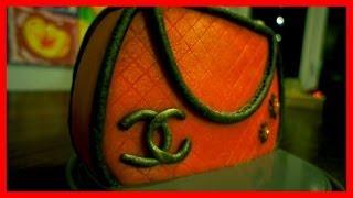 Handtaschen Kuchen - Chaneltasche - von Kuchenfee